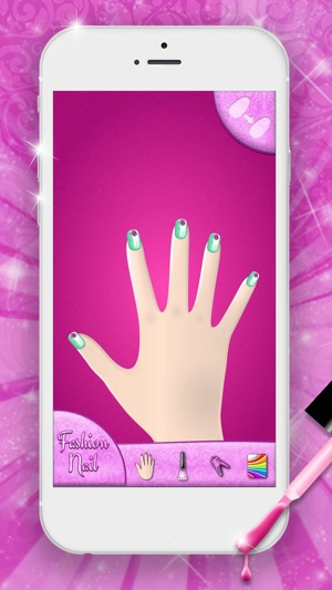 Fashion nail art designs game on the app store screenshots solutioingenieria Gallery