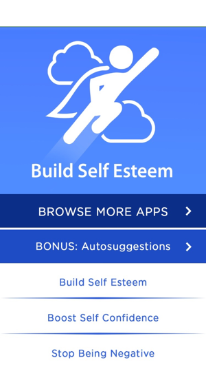 Apps to boost self esteem