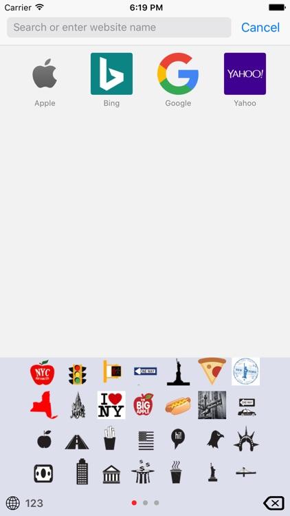 New York Emoji Keyboard