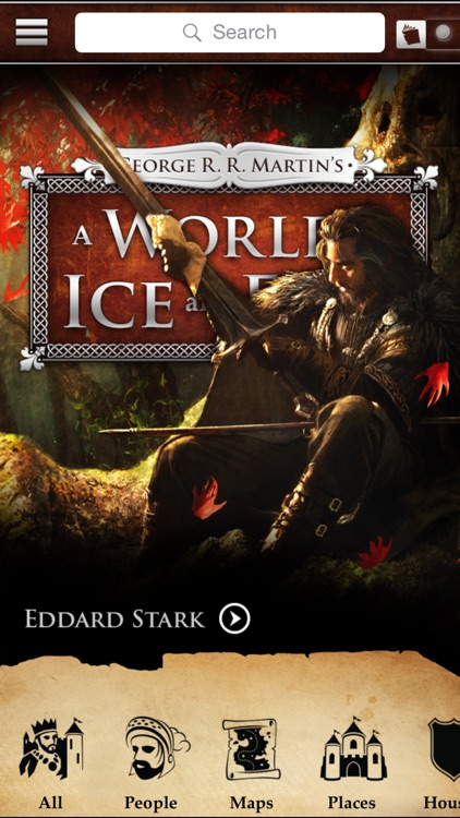 George R. R. Martin's A World of Ice and Fire – A Game of Thrones Guide screenshot-0