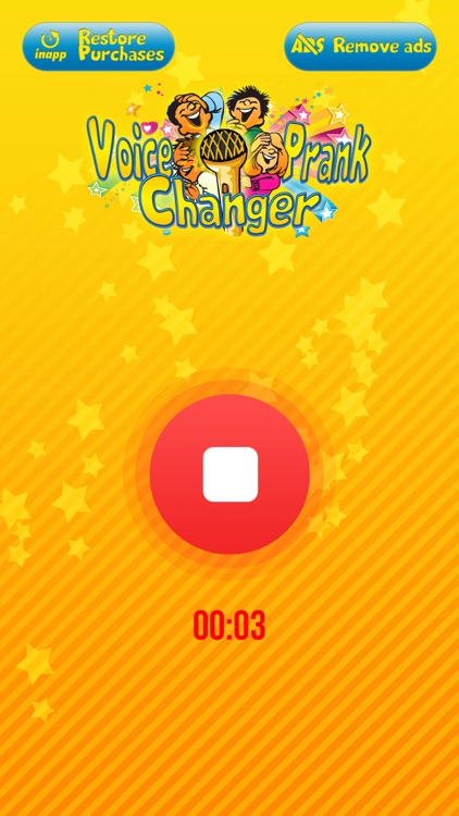 Prank Voice Changer with Cool Sound Effects Free screenshot-3