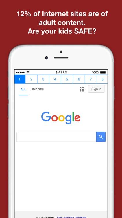 Safe Web for kids - Whitelist Internet Browser