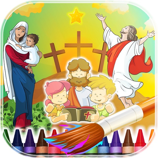 Coloring Book Bible For Kids