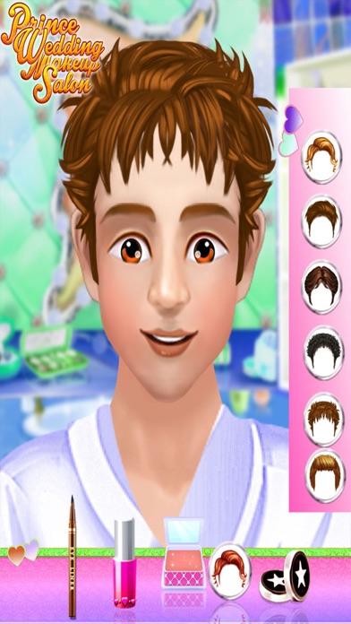 Prince Wedding Makeup Salon : marriage funciton game for kids & girl screenshot three