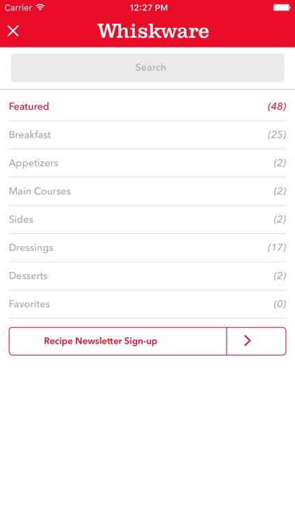 Whiskware Recipe Box screenshot-4