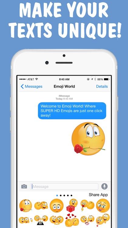 Lovemojis 2 Keyboard by Emoji World screenshot-3