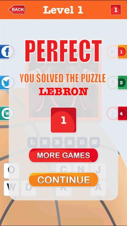 Guess The Basketball Player screenshot-4