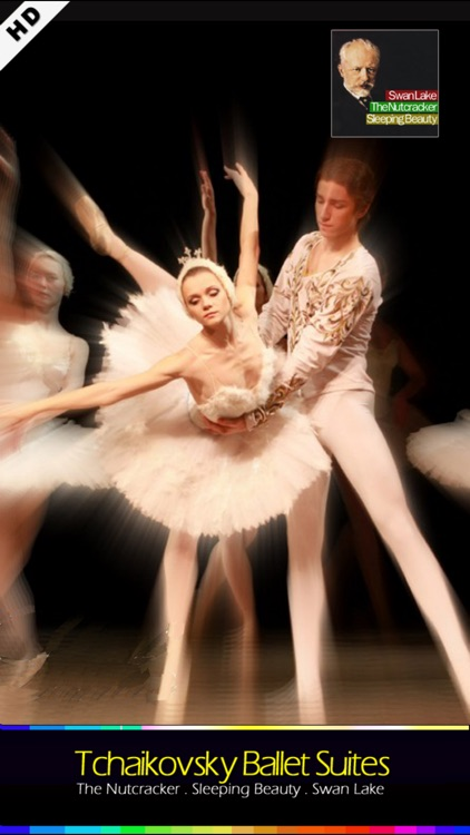 Tchaikovsky Ballet Suites , Swan Lake . The Nutcracker . Sleeping Beauty screenshot-0