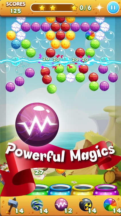 Bubble Mania Pop Dragon Shooter: Newest World Bubble Shooter HD 2016 - Match 3 Puzzle Classic - Totally Addictive & Free screenshot-4