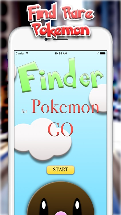 Finder for Pokémon Go