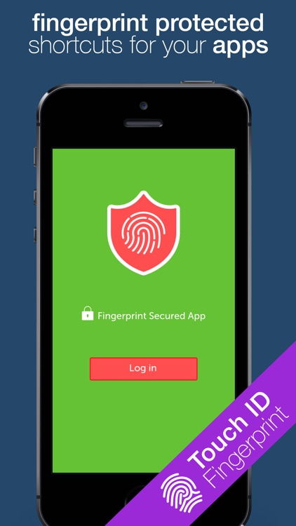 Fingerprint Shield - Password protected shortcuts for apps