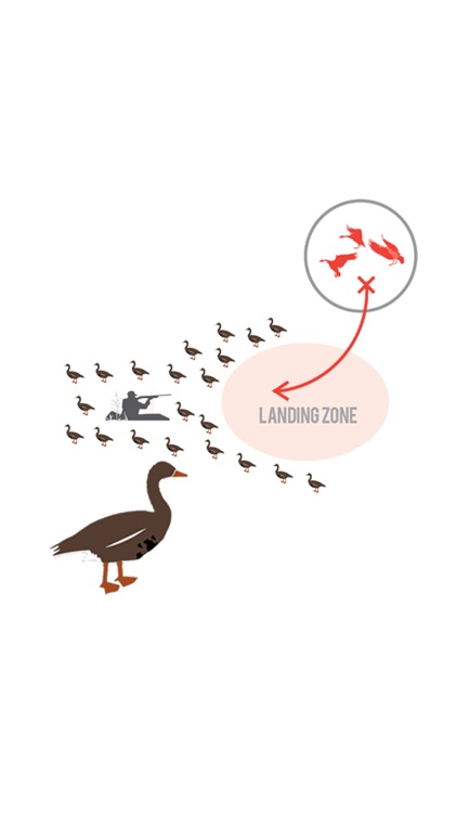 Specklebelly Goose Hunting Diagram Builder for Waterfowl Hunting screenshot-0