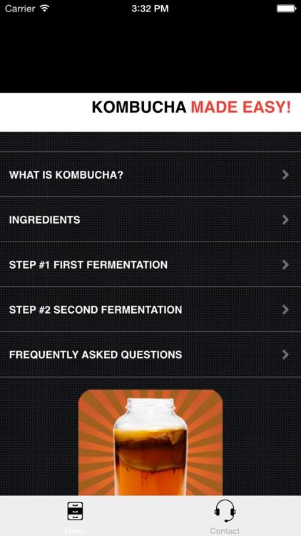 KOMBUCHA Made Easy! How to Make Kombucha Tea - Your First Home Brew With Probiotics screenshot-3
