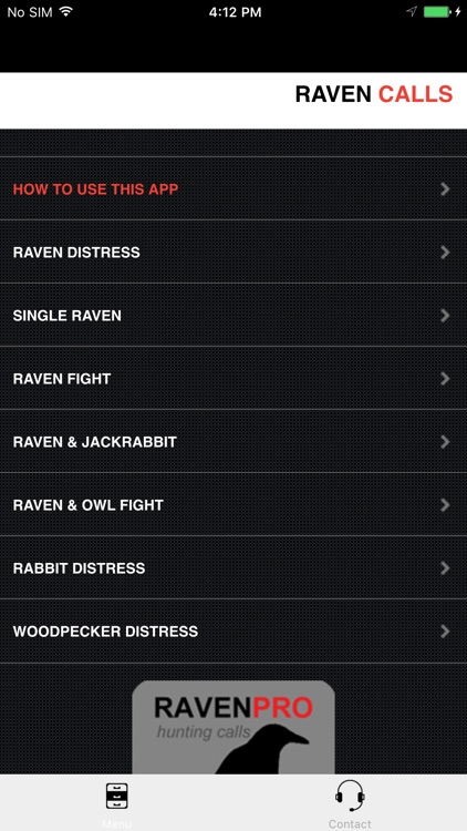 REAL Raven Hunting Calls - 7 REAL Raven CALLS & Raven Sounds! - Raven e-Caller - Ad Free - BLUETOOTH COMPATIBLE screenshot-2