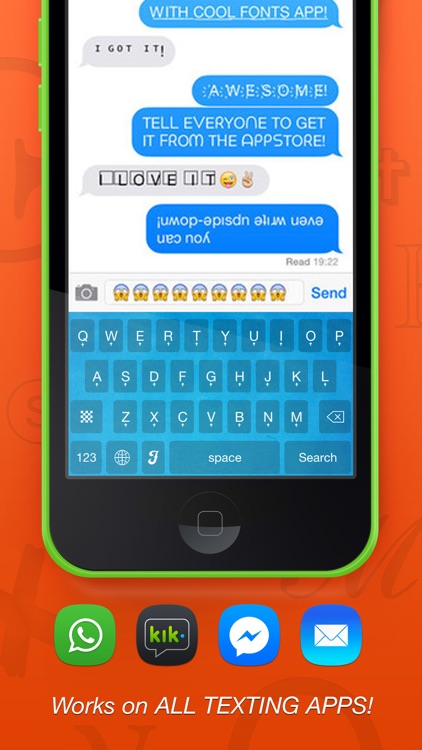 Textizer Font Keyboards Free - Fancy Keyboard themes with Emoji Fonts for Instagram screenshot-3