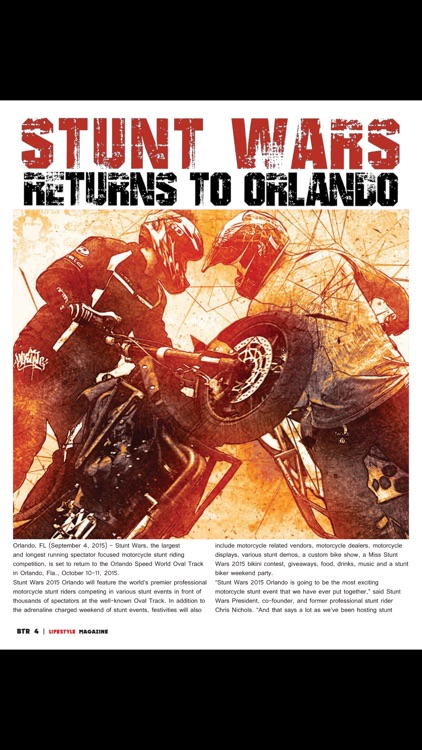 Born To Ride Lifestyle Motorcycle Magazine