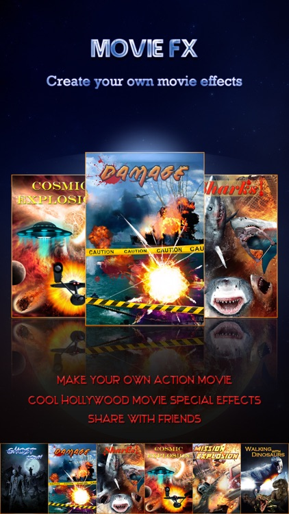 Hollywood Style Movie FX - Super Power Effect Director & Extreme Scary Photo Sticker Edit.or