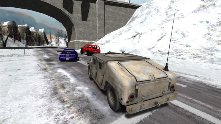 Snow Car Racing PRO screenshot-4