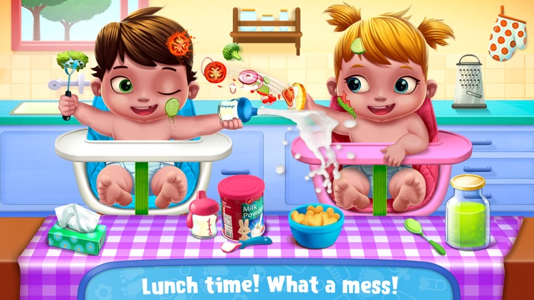 Baby Twins Babysitter screenshot-2