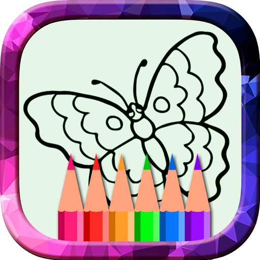 Toddler Coloring Pages - Creative ColorBook And Drawing for Kids With Flowers & Animals