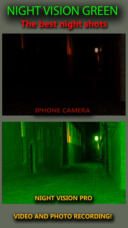 Night Vision Real Mode Camera Secret - True Green Light For Photo & Video screenshot-3
