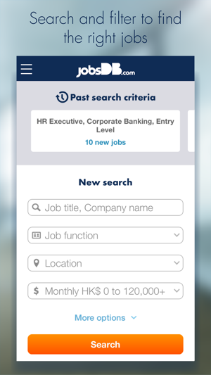 Jobsdb job search on the app store stopboris Choice Image