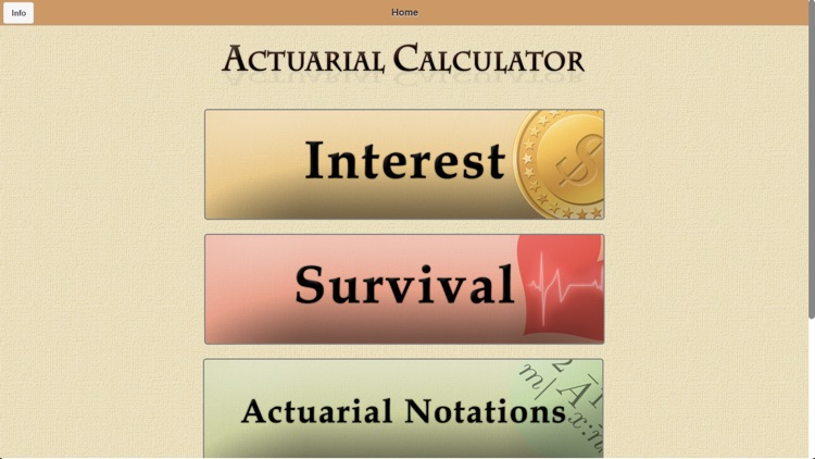 Actuarial Calculator