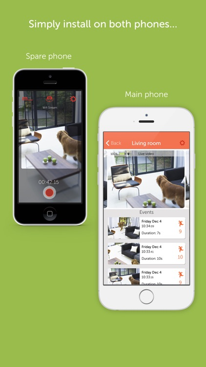 Manything home security camera app with cloud DVR app image