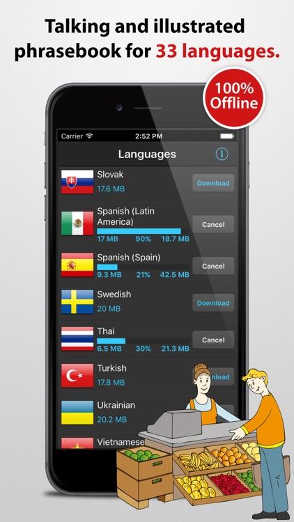 Travel Interpreter - Multilingual Phrasebook