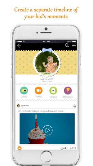 kidlr baby milestones tracker kids photo book on the app store
