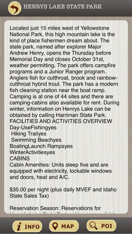 Idaho State Parks & National Parks Guide screenshot-3