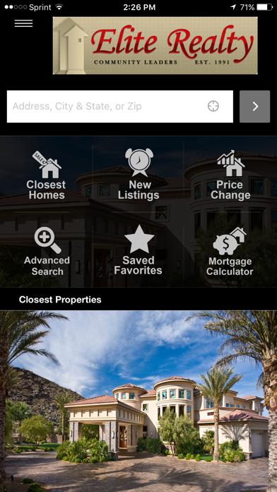 Elite Realty – Las Vegas screenshot one