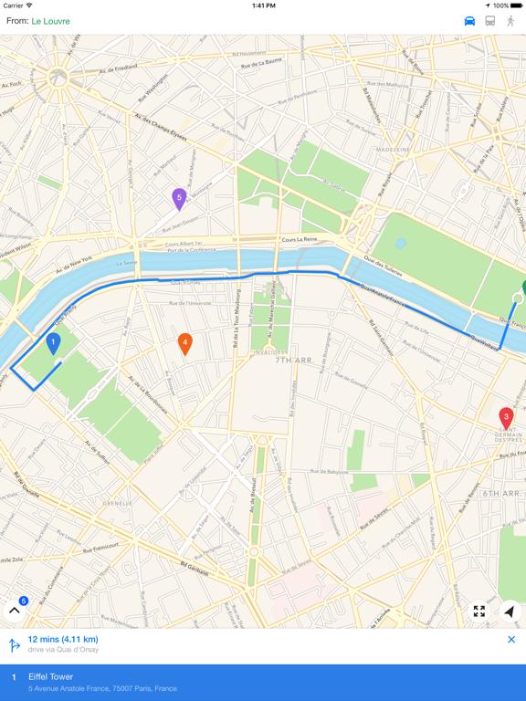 Relay – Multiple Location Maps screenshot 4
