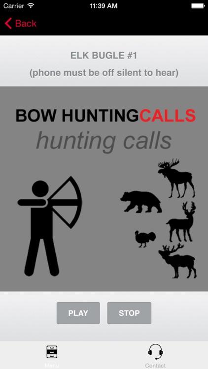 Bow Hunting Calls - BLUETOOTH COMPATIBLE screenshot-0