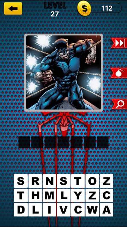 Comic Super Hero Quiz - Guess Anime Superheros screenshot-4