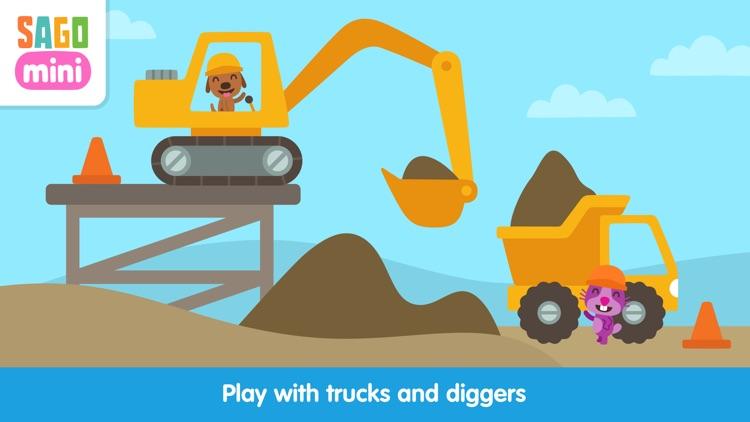 Sago Mini Trucks and Diggers screenshot-0