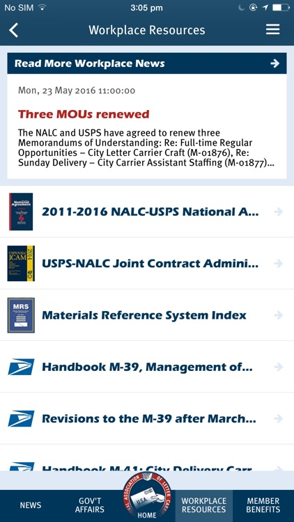 NALC Member App screenshot-3