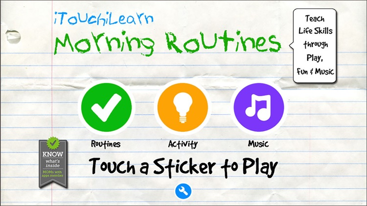 iTouchiLearn Life Skills: Morning Routines for Preschool Kids - Free