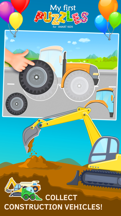 Tractor Jigsaw Puzzles Games free for Toddlers