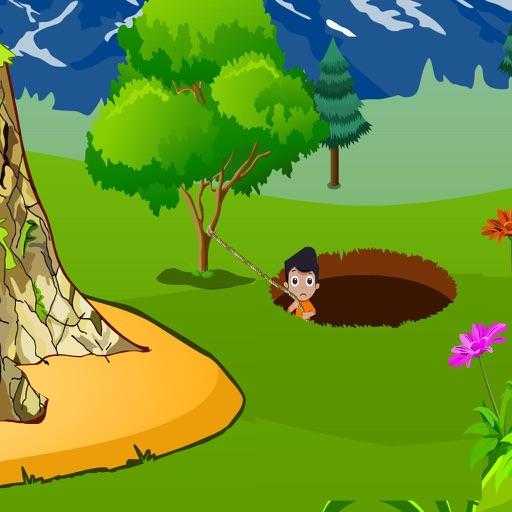 Small Boy Pit Escape