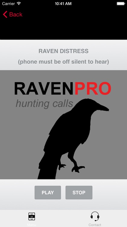 REAL Raven Hunting Calls - 7 REAL Raven CALLS & Raven Sounds! - Raven e-Caller - BLUETOOTH COMPATIBLE screenshot-0
