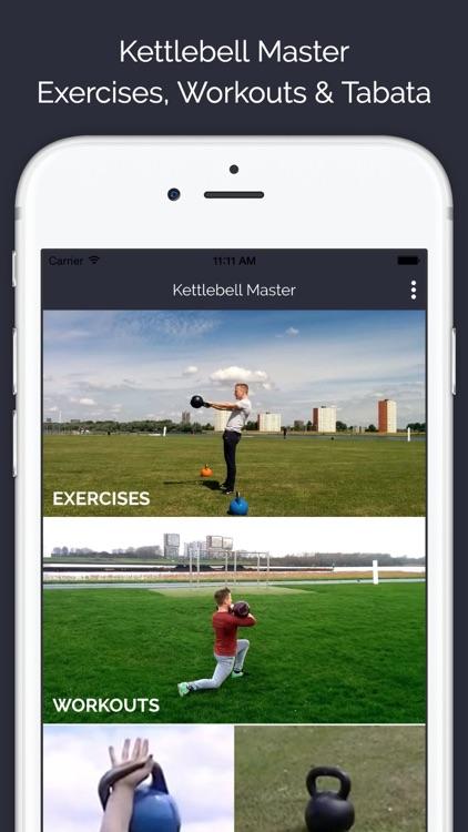 Kettlebell Master - 80 exercises & 20 workouts - Lite