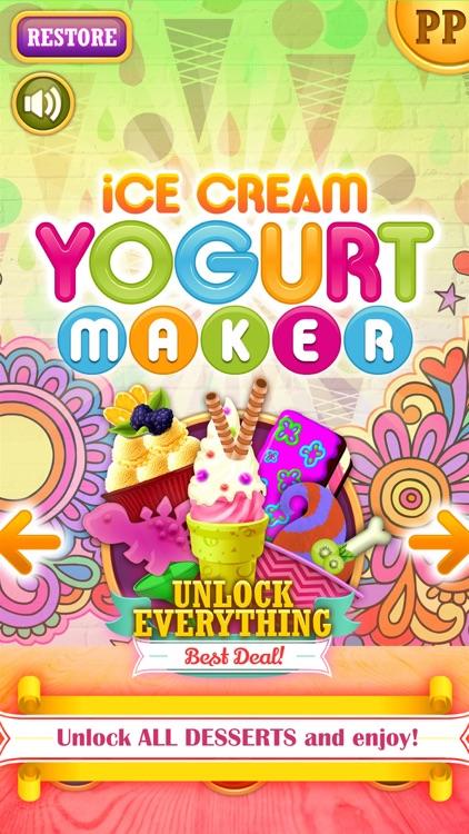 Ice Cream Yogurt Maker! Make Homemade Frozen Food Treats. Swirl, Decorate, Serve and Eat. screenshot-4