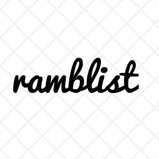 Ramblist Travel App