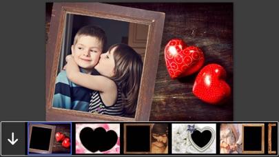 I Love You Photo Frames - Instant Frame Maker & Photo Editor Screenshot on iOS