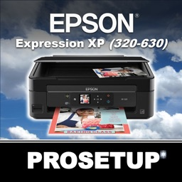 Prosetup for Epson Expression XP (320 – 630)