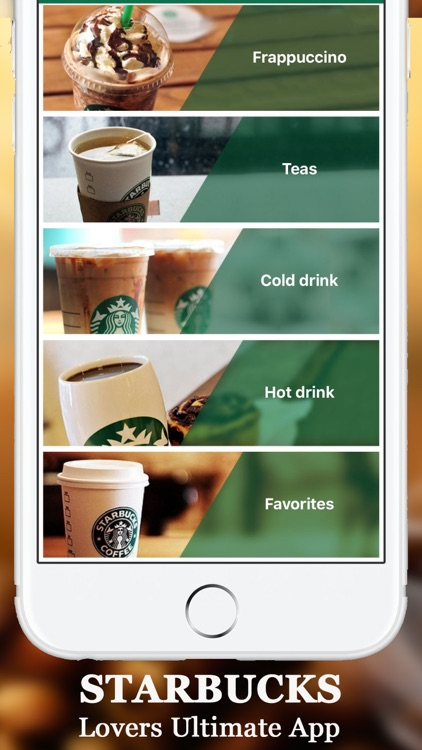 Secret Menu For Starbucks Coffee Tea Cold Hot Drinks Recipes Card Prices And Locations By Numan Ali
