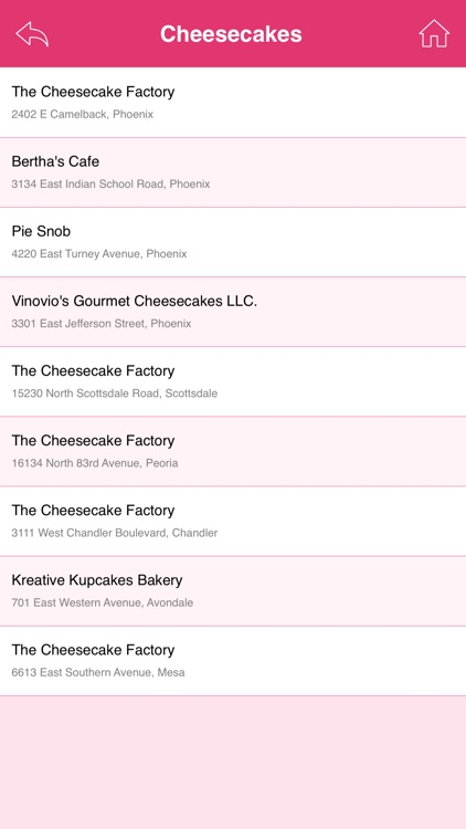 Great App for Cheesecake Factory screenshot-4