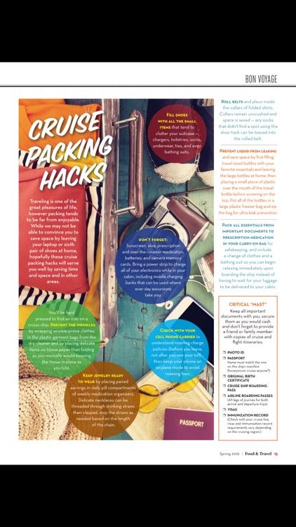Food and Travel Quarterly Mag screenshot-4
