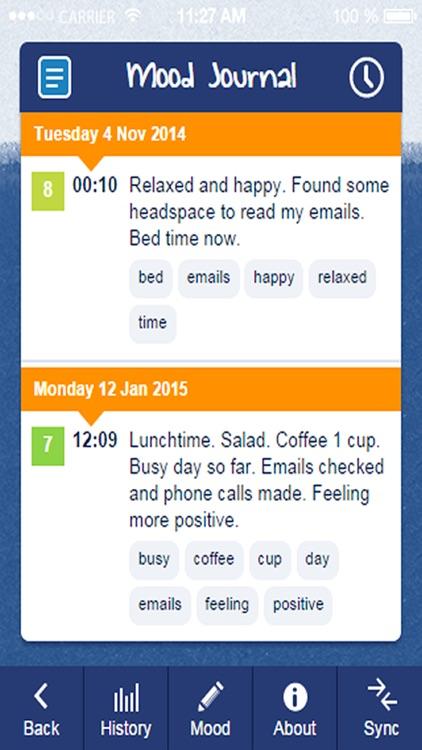 Mood Tracker screenshot-3